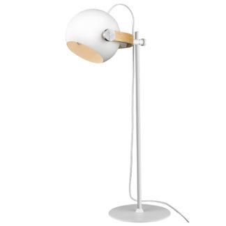 DC bordlampe hvit