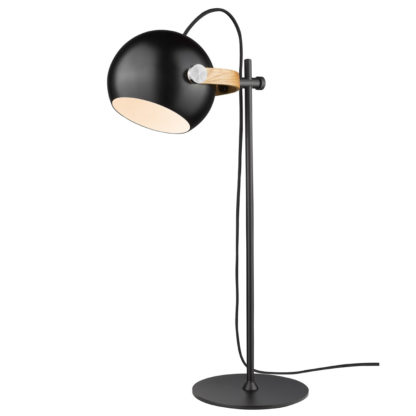 DC bordlampe sort