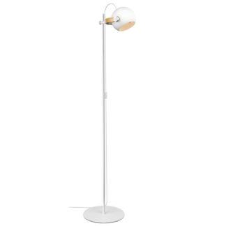 DC gulvlampe 1lys hvit