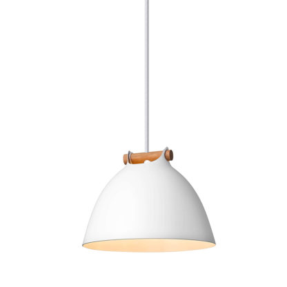 Århus pendel Ø18cm hvit