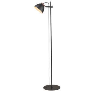 Århus gulvlampe Ø24cm sort