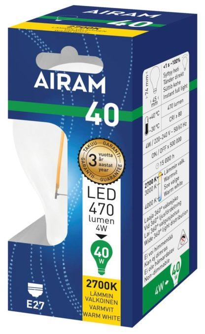 LED Classic FLM 4W E27