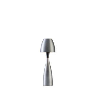 Anemon bordlampe liten oxidgrå