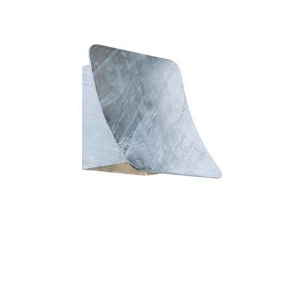 Bend vegglampe galvanisert IP54
