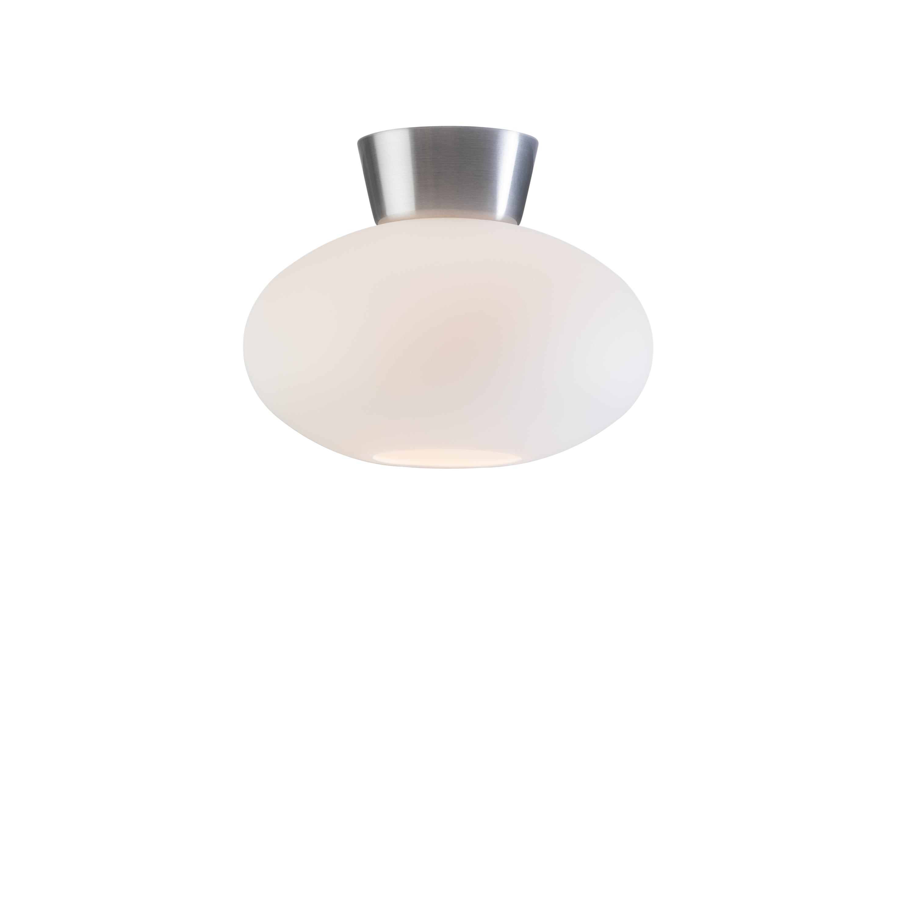 Bullo opalhvitt glass/aluminium IP21