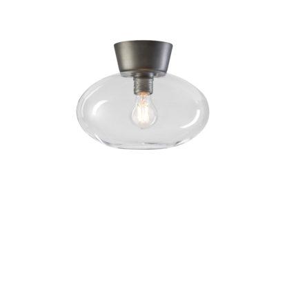 Bullo klart glass/oxidgrå IP21