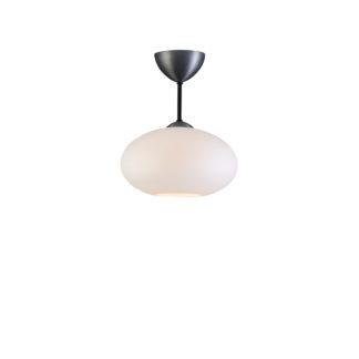 Bullo m/stang opalhvitt glass/oxidgrå IP21
