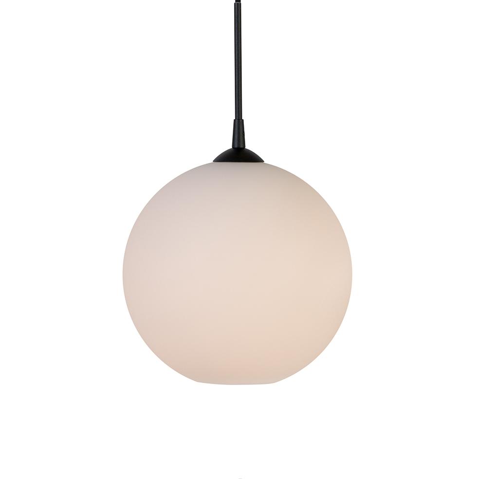 Capo pendel Ø30 opal m/sorte detaljer