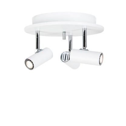 Cato 3 rondell LED hvit dimbar
