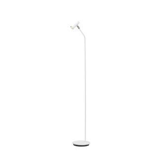 Cato Curved gulvlampe hvit