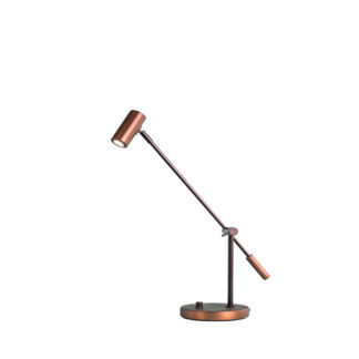 Cato bordlampe LED oxid dimbar