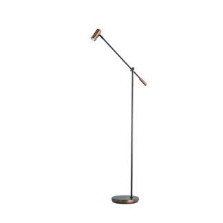 Cato gulvlampe LED oxid dimbar