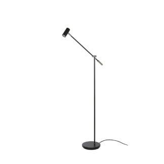 Cato gulvlampe LED matt sort dimbar