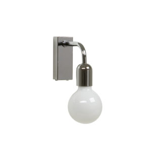 Regal vegglampe singel krom IP21