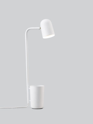 Buddy bordlampe white