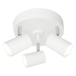 Correct rondell 3-lys hvit