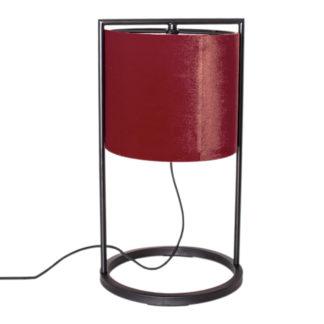Vieste bordlampe rød
