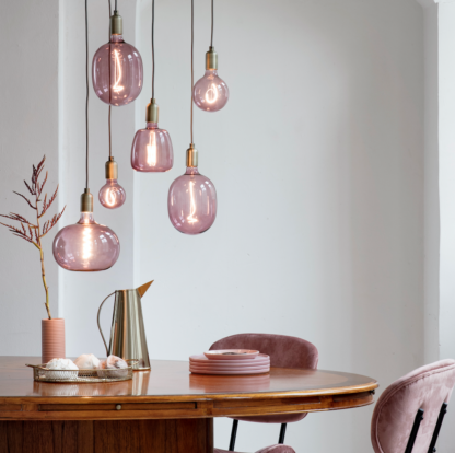 Colors Avesta quartz pink 150lm dimbar