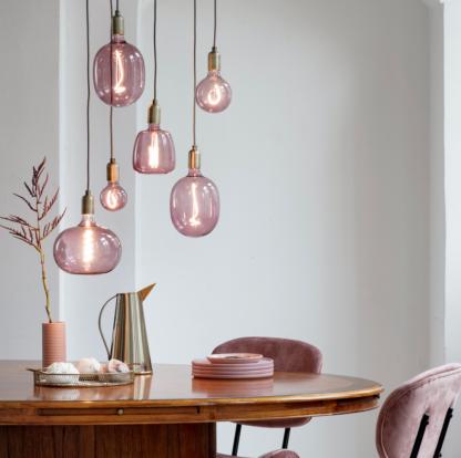 Colors Nora 125 quartz pink 150lm dimbar