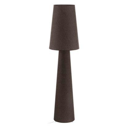 Carpara gulvlampe brun