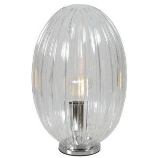 Tapas bordlampe transparent