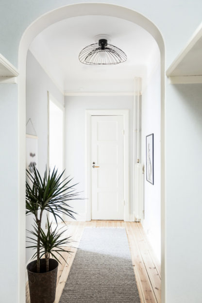 Ray plafond/vegg sort