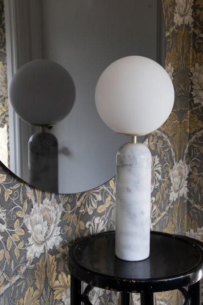 Torrano bordlampe hvit