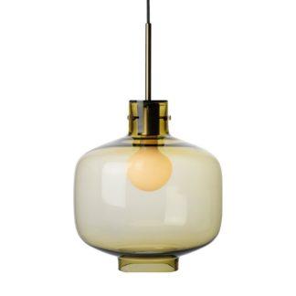 Arkivlampe 4180 oliven m/messing oppheng