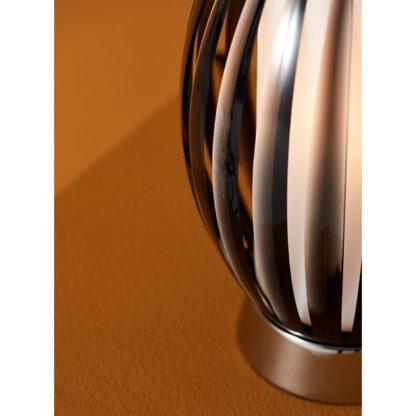 Tentacle bordlampe (S) røkfarget