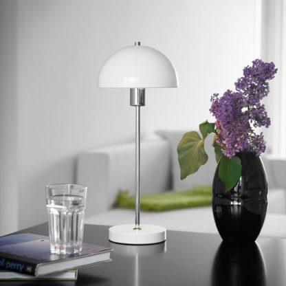 Vienda bordlampe hvit