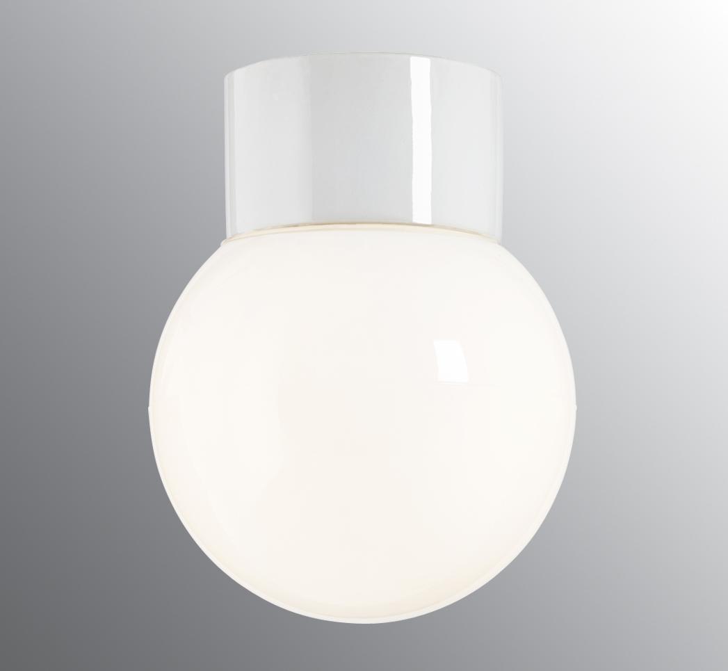 Classic Glob hvit/opal Ø15cm IP54