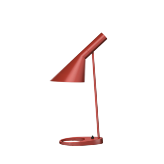 AJ bordlampe rusty red
