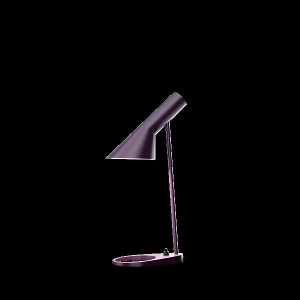 AJ mini bordlampe aubergine