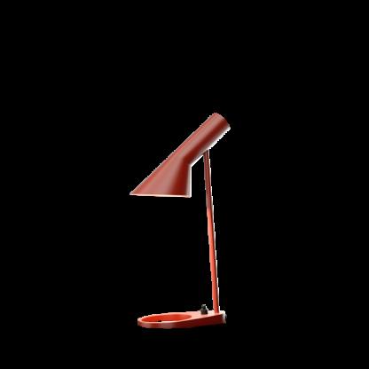 AJ mini bordlampe rusty red