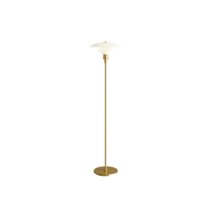 PH 3½ - 2½ gulvlampe messing