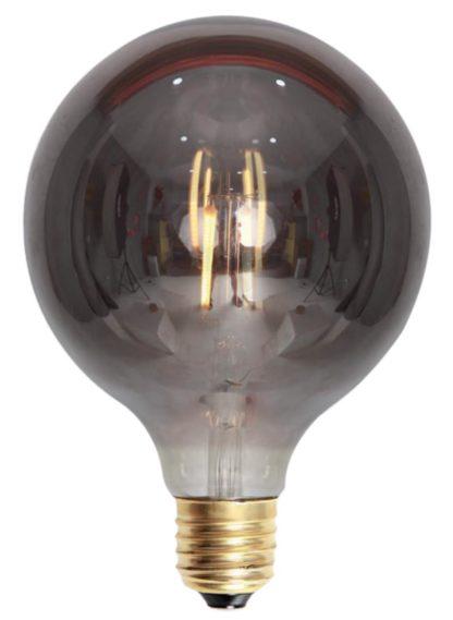 Edison LED globe 95mm smoke