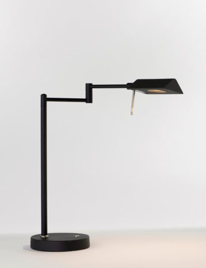 Canton bordlampe sort