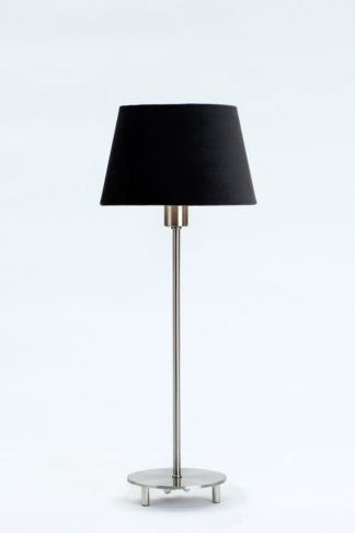 Emir bordlampe stål u/skjerm