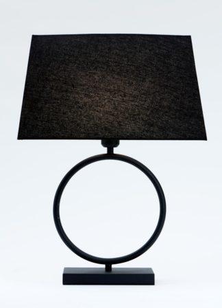 Riva-2 bordlampe matt sort m/skjerm