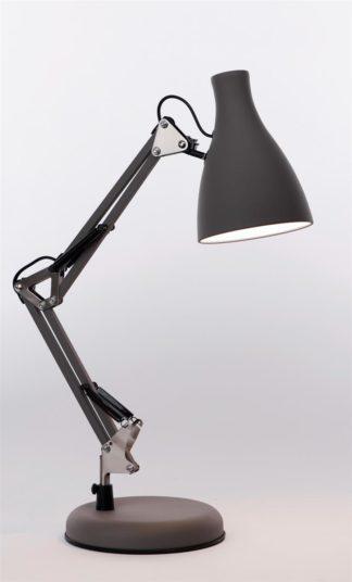 Tivoli bordlampe grå
