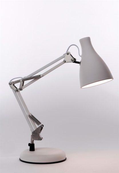 Tivoli bordlampe hvit