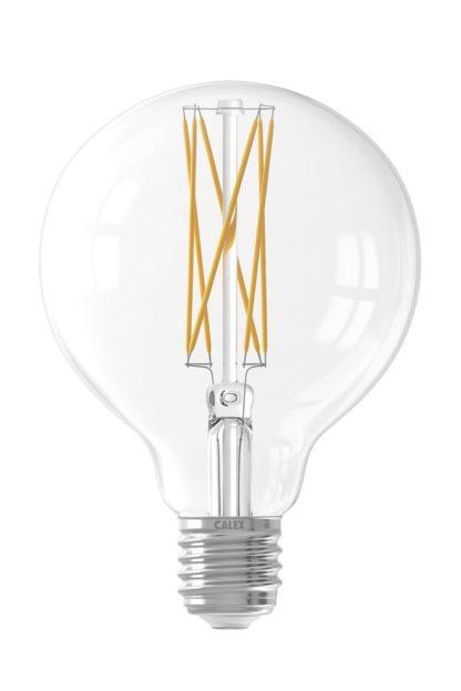 LED Globe 95mm klar 4W
