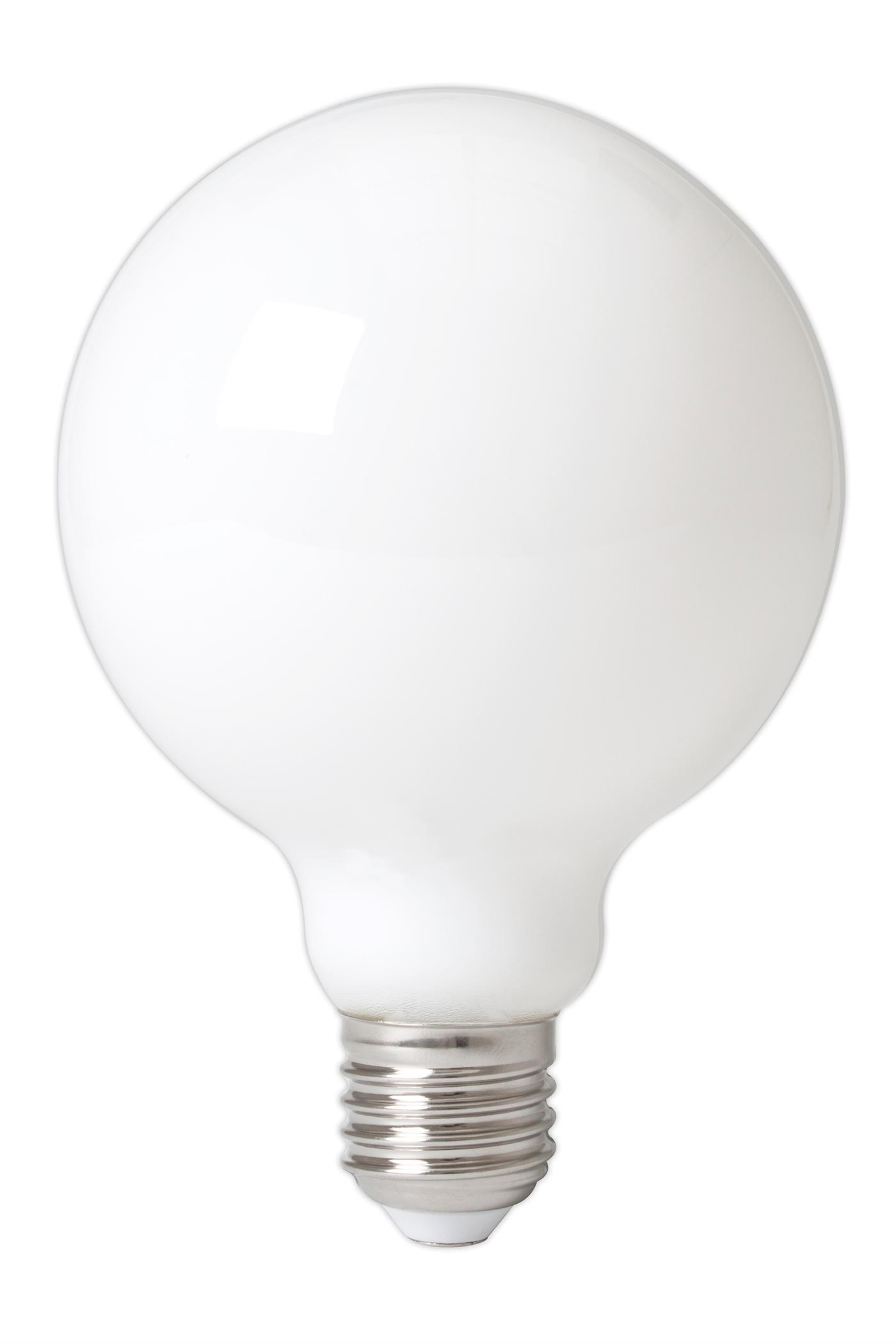 LED Globe 90mm softone dimbar 8W