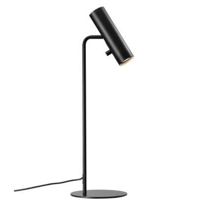 MIB6 bordlampe sort