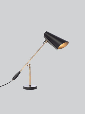 Birdy bordlampe sort/gull