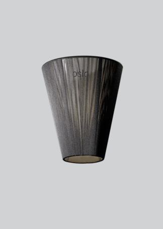 Oslo Wood shade black