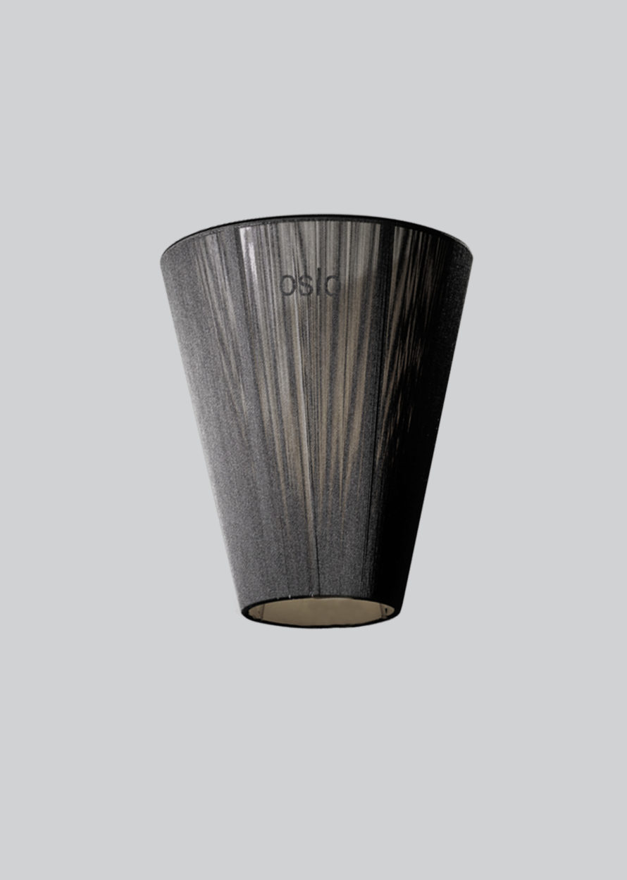 Oslo Wood shade black