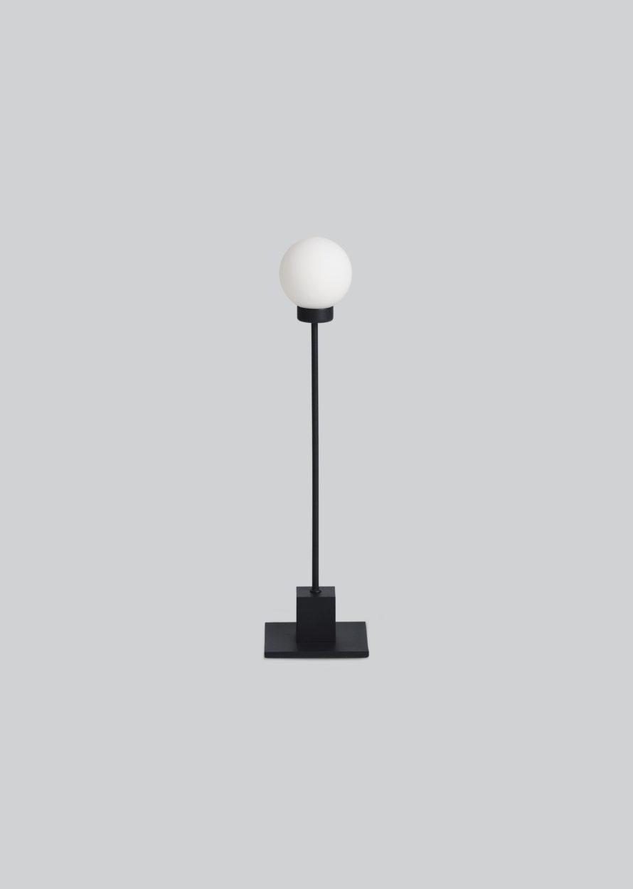 Snowball bordlampe sort