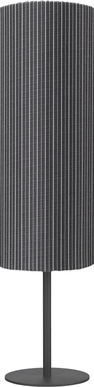 Agnar gulvlampe lav grå rand
