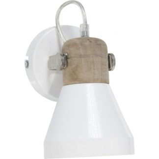 Ashby vegglampe white